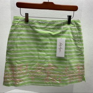 Lady Hagan NWT Golf Skort striped Size 6